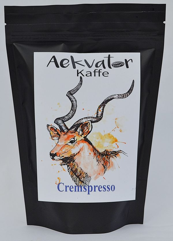 Cremspresso fra Aekvatorkaffe, espresso
