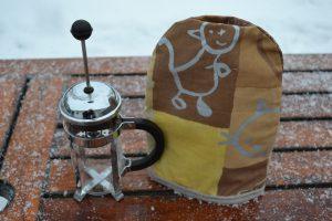 kaffevarmer til stempelkande 3 kop
