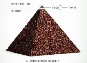 speciel kaffe piramid