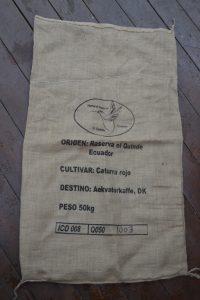 kaffesæk quinde