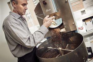 kafferisteriet i Fabrikanterne i Vejle aekvatorkaffe