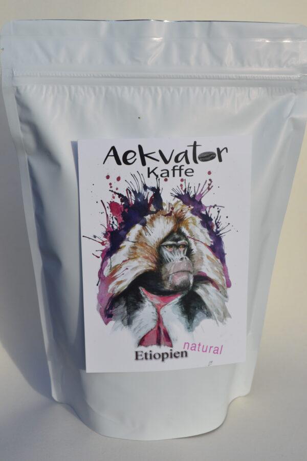 Etiopien natural kaffe. Watadera